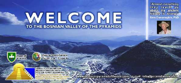 Welcome Bosnian Pyramid Dr. Sam Osmanagich