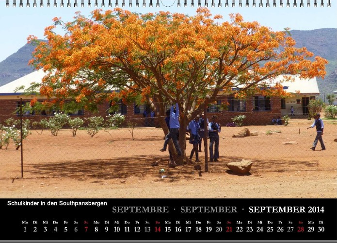 beREICHernd Kalender 2014 September