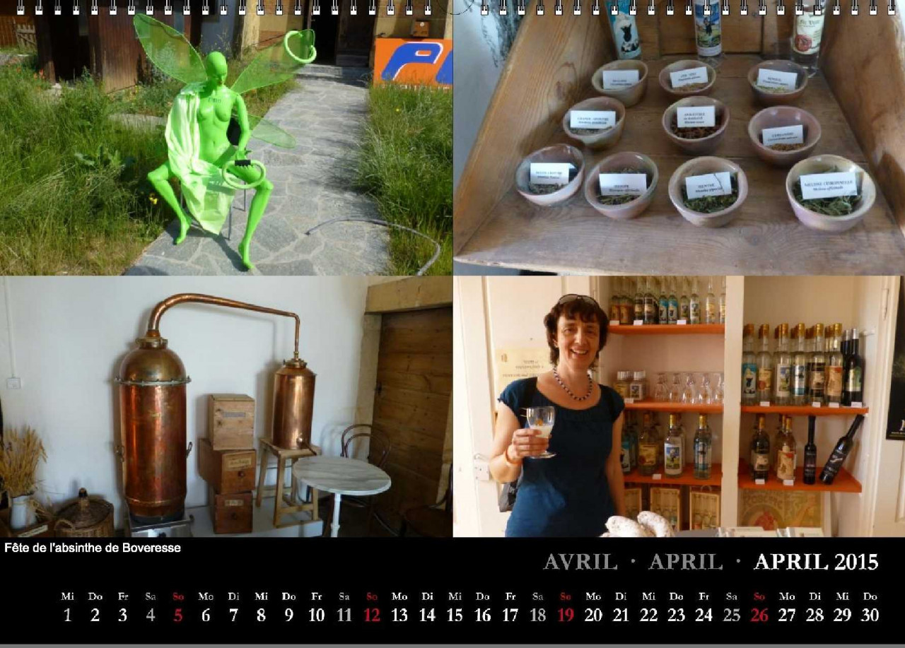 beREICHernd Kalender 2015 April